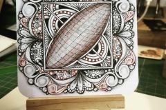 Magnified Fragment A3 by Eglee Torres Zuleta, CZT Eu4